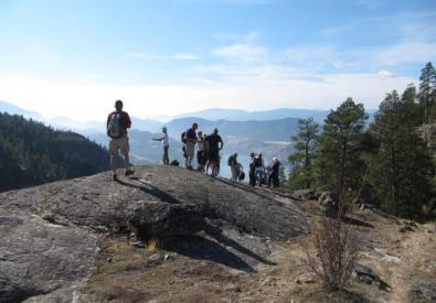 Rock Oven Hike:Skaha Bluffs to Heritage Hills